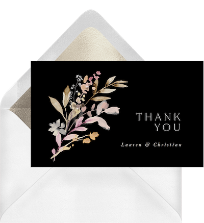thank you card messages during a difficult time