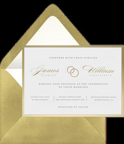 Lasting Love Invitation