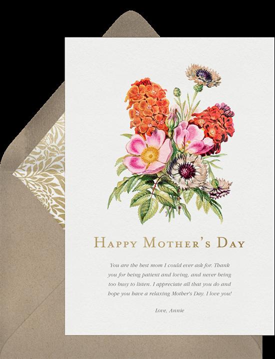 Cheerful Bouquet Card