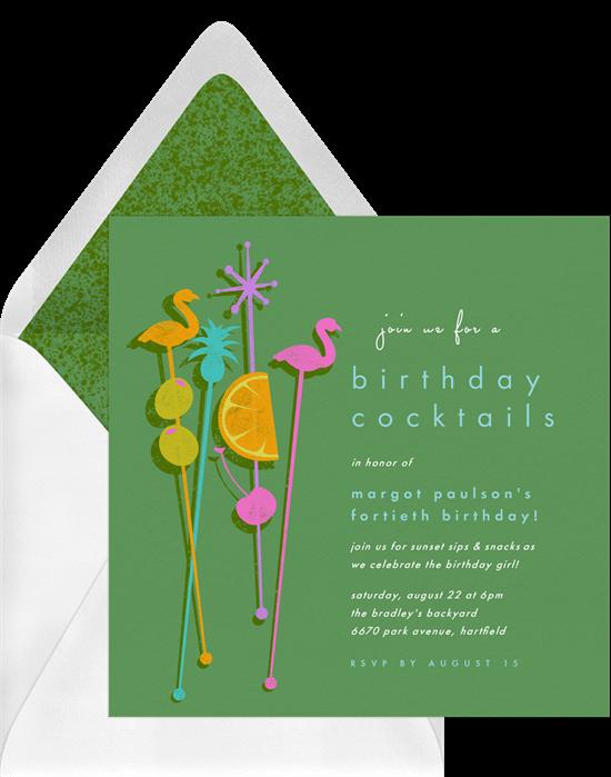 Stir it Up Invitation by Greenvelope