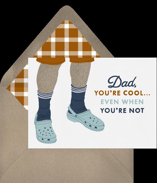 Cool Dad Card