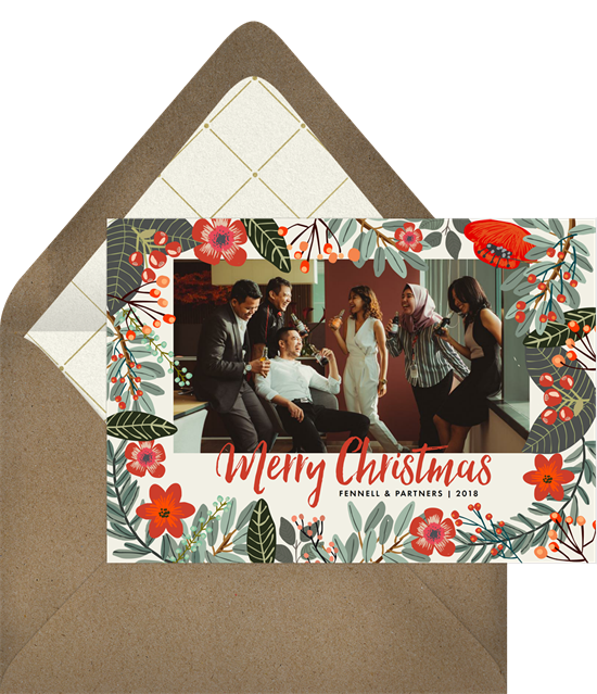Christmas cards for workmates
