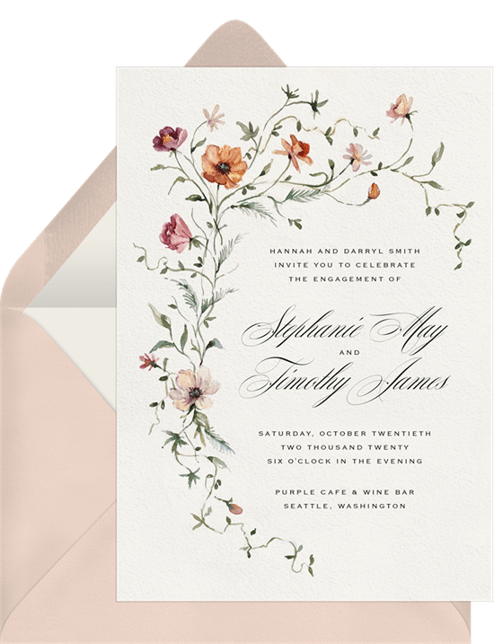 Wonderland Tea Party invitation style