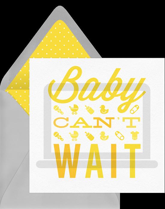 Baby shower invitation wording Virtual Baby Shower