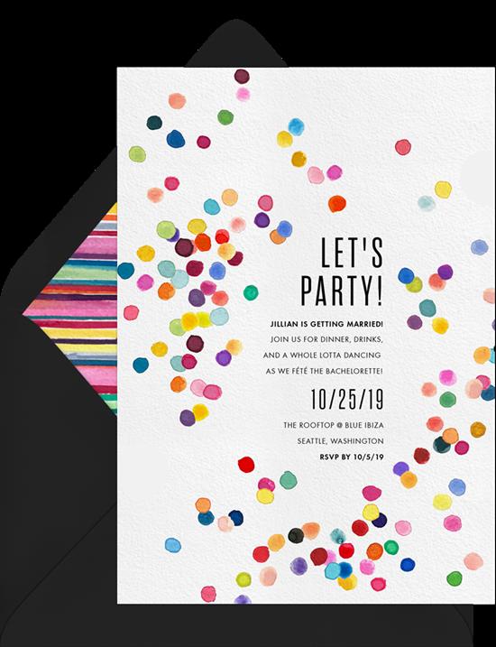 Bachelorette party decor ideas: Balloon words