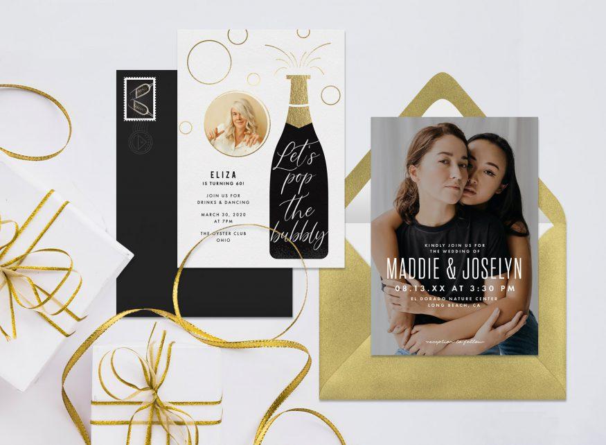 photo invitations by Greenvelope