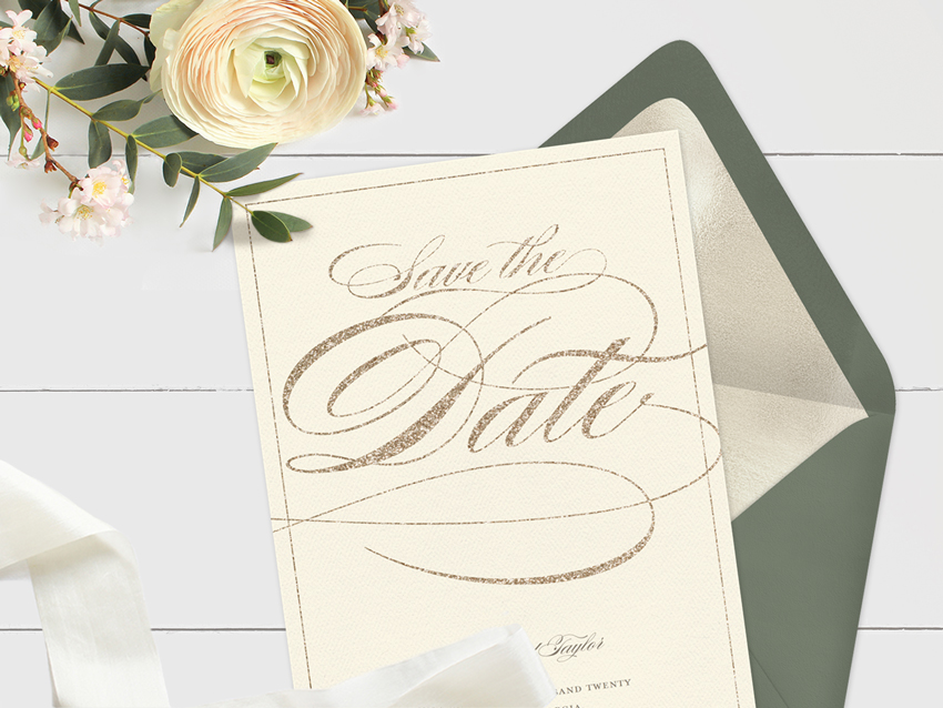 9 Save The Date Ideas To Match Your