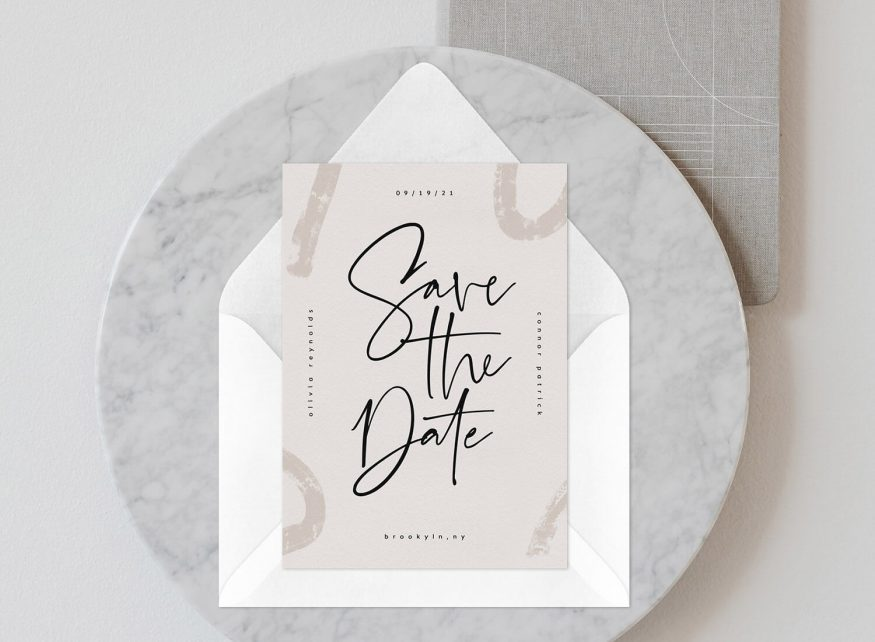 Save the Date Template Ideas
