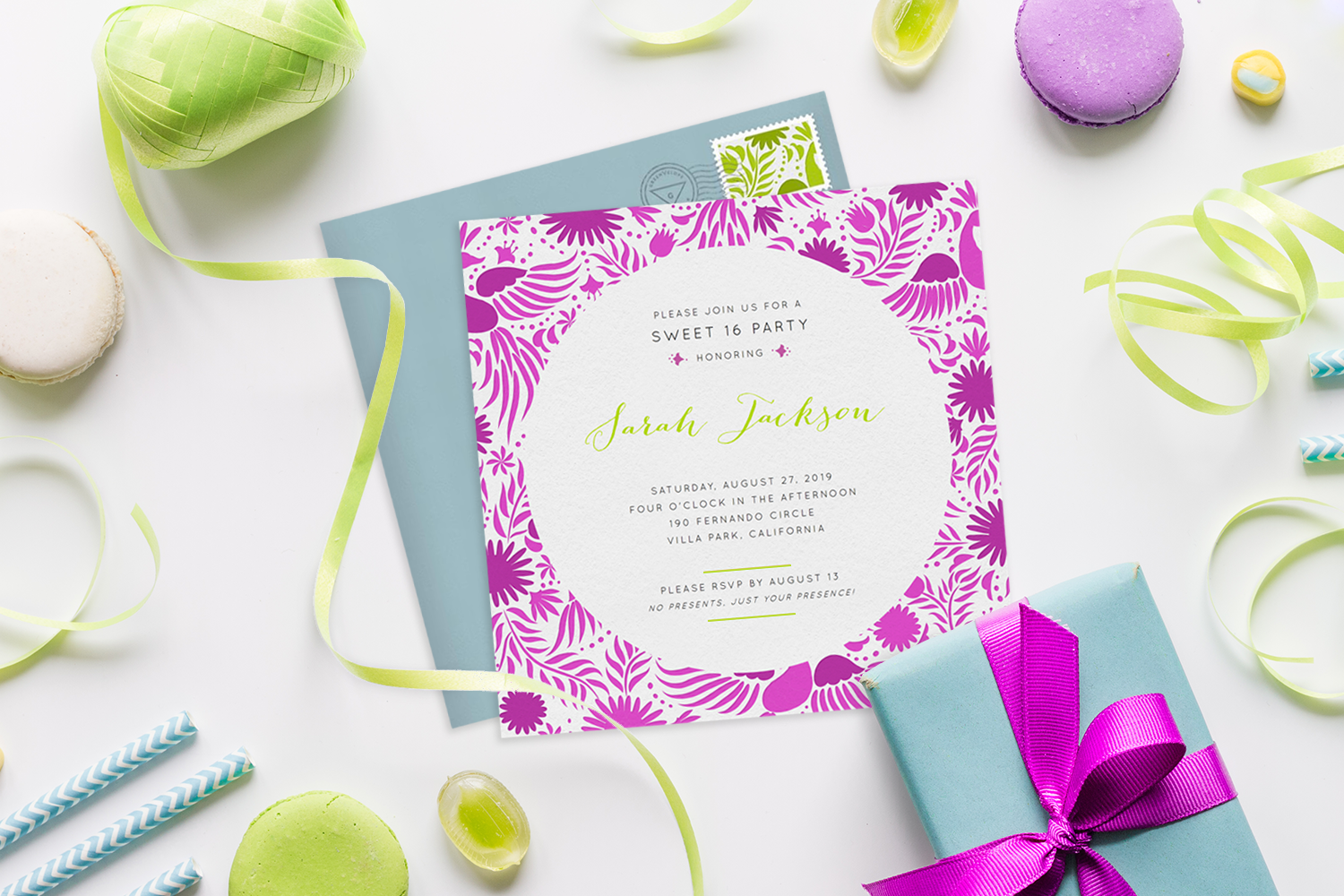 16 Sweet 16 Invitations Your Teen Will Love - STATIONERS