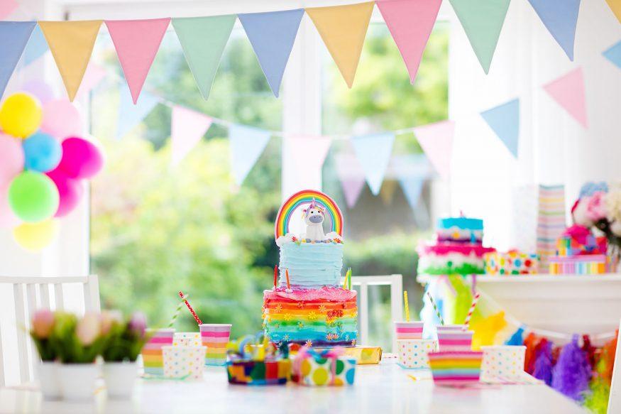 Kids unicorn party ideas