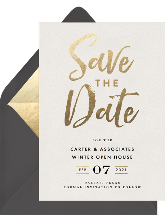 chic party save the dates in white greenvelope com