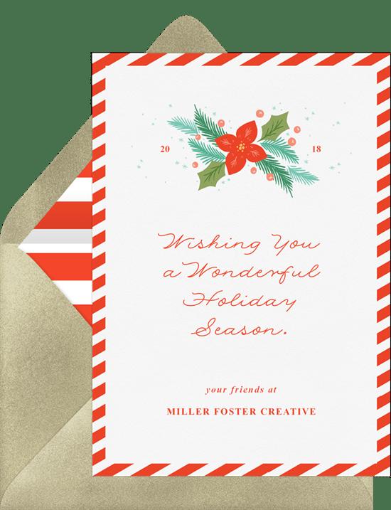 Christmas Notecard.Christmas Note Cards Greenvelope Com