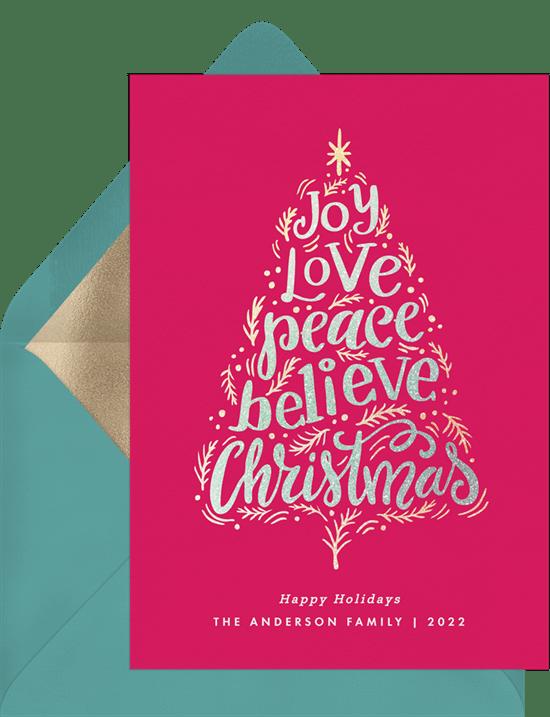 Christmas Sentiments For Cards.Christmas Sentiments Cards Greenvelope Com