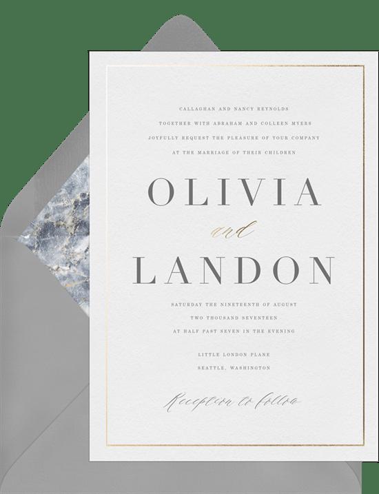 christening invitations clean and elegant baptism greenvelope com