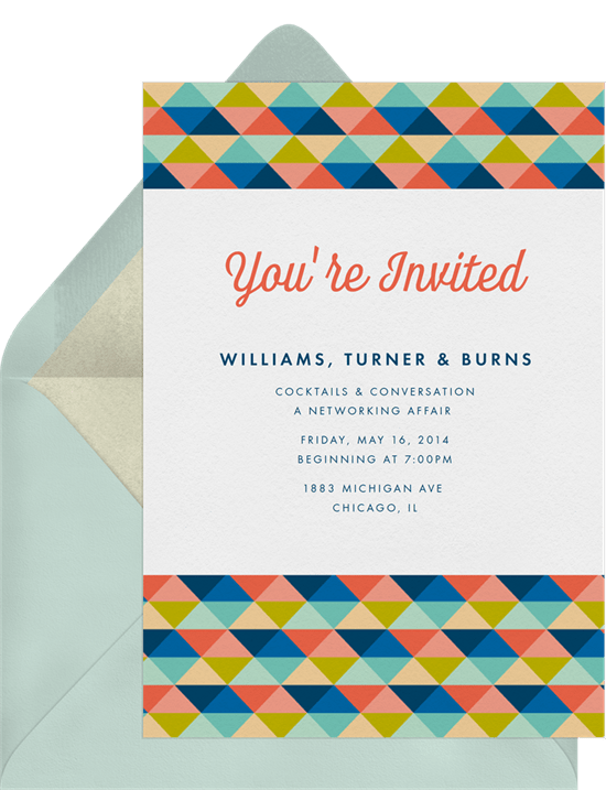 colorful quilt invitations in blue greenvelope com