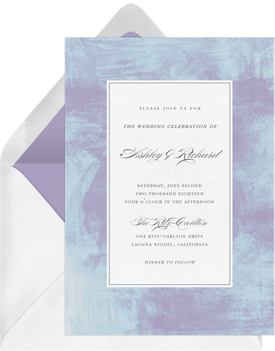 contemporary texture invitations greenvelope com