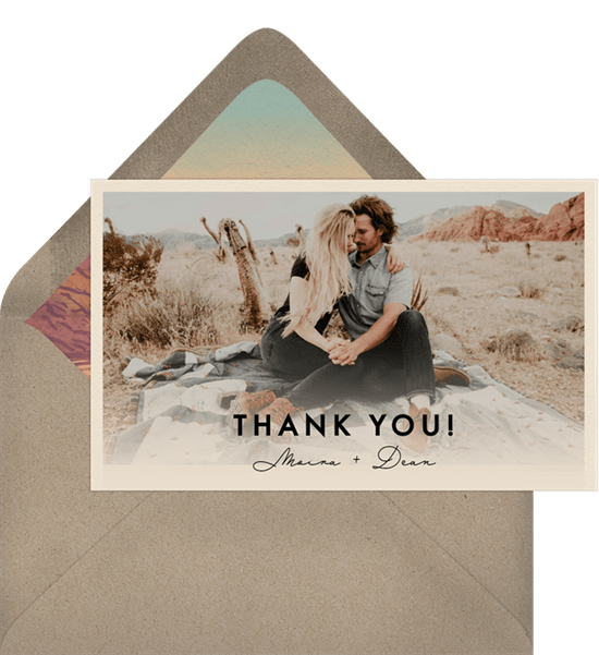 Death Valley Thank You Notes Greenvelopecom
