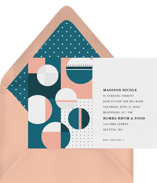 Interactive Shapes Invitations Greenvelopecom