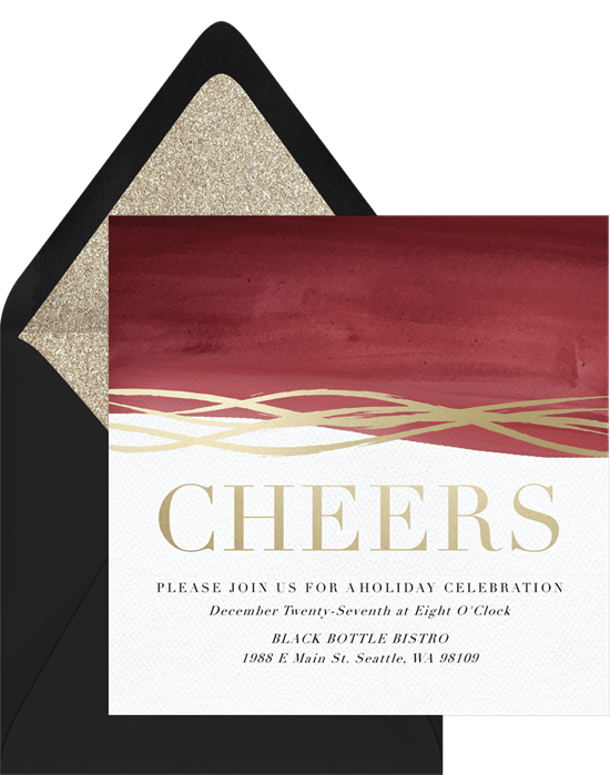 cheer invitations