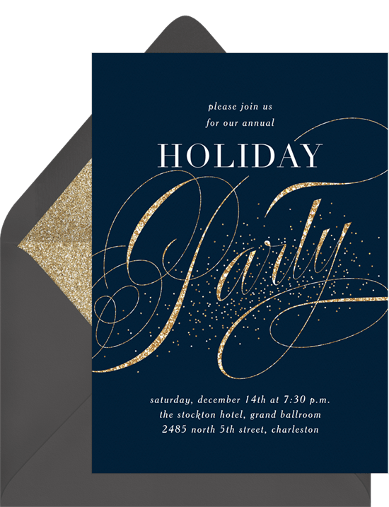 party sparkle invitations greenvelope com