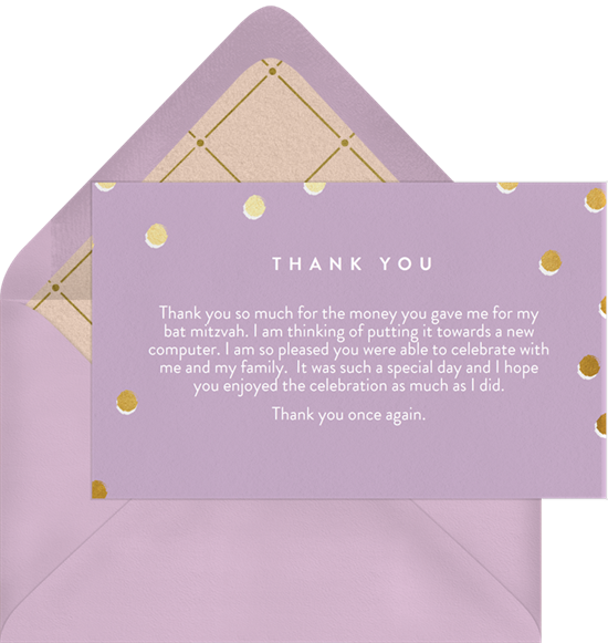 bat mitzvah thank you speach essay Mother's day speech i really love my motherthis would be perfect for hershe will surely love itthank you so much this speach is very.