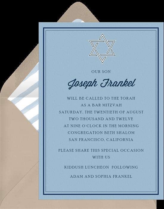 simply classic invitations in blue greenvelope com