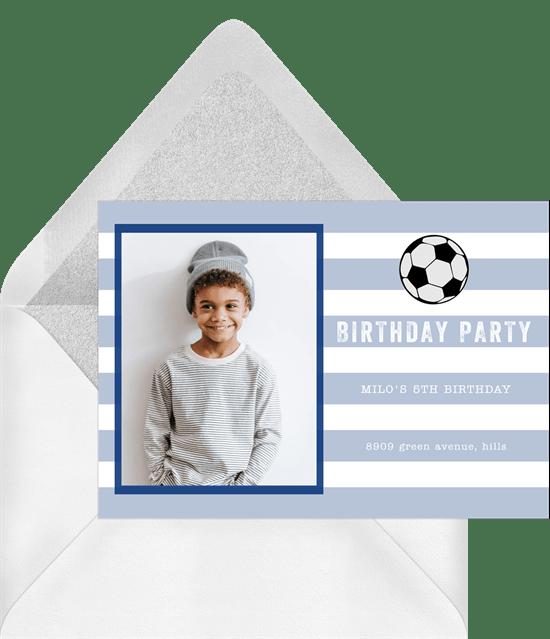 soccer party invitations greenvelope com