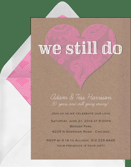 We still do invitations in pink greenvelope we still do invitation in pink stopboris Images