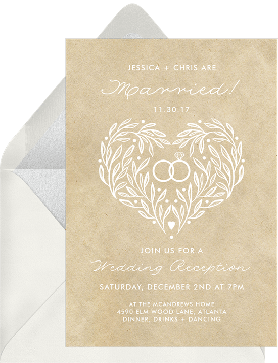 Wedded Bliss Invitation