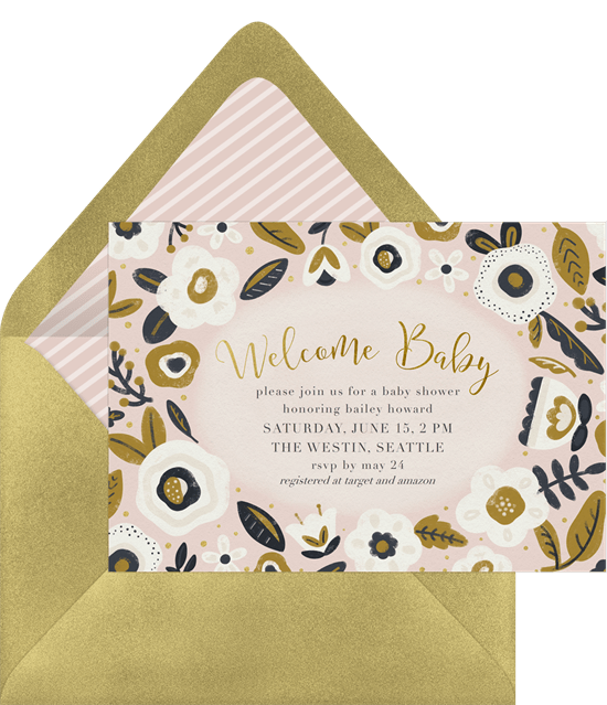 Welcome Baby Invitations