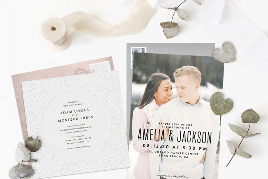 721a280e98708 Email Online Wedding Save the Dates that WOW! | Greenvelope.com