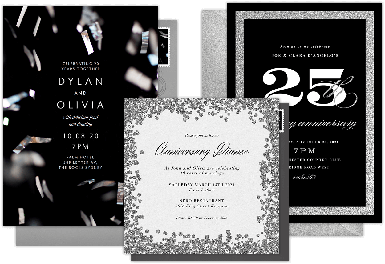 40Th Wedding Anniversary Party Invitations was Cool Style To Create Best Invitation Card