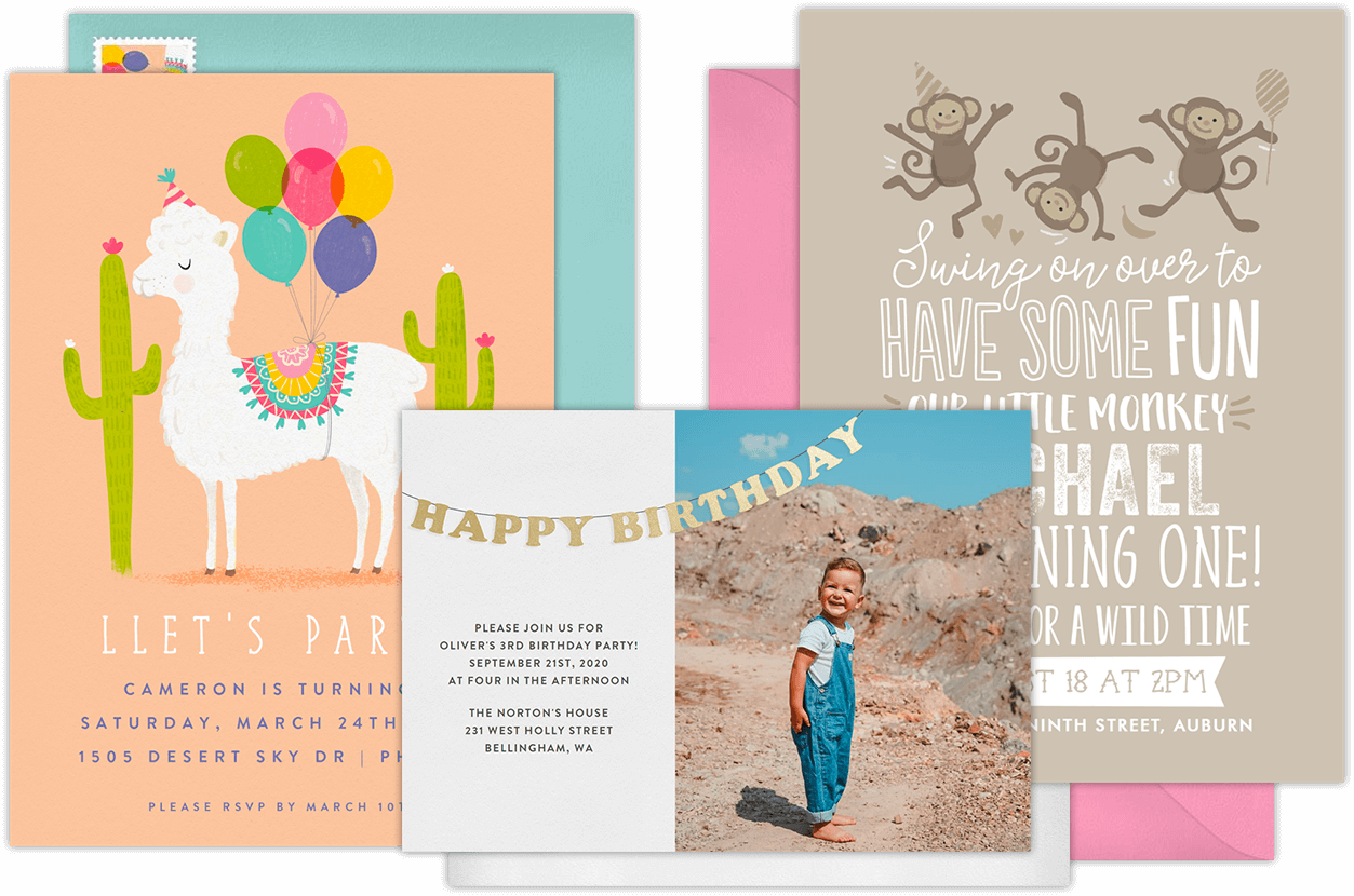 Email Online Birthday Party Invitations That WOW Greenvelopecom - Birthday party invitation reminder
