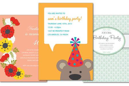 Email Online Birthday Party Invitations That WOW Greenvelopecom - How to write a birthday invitation in german