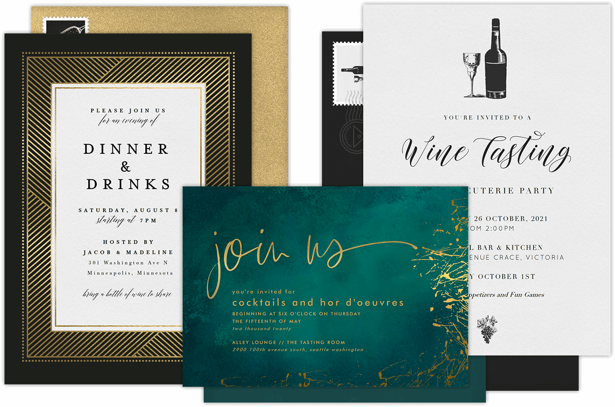 Entertaining Invitations