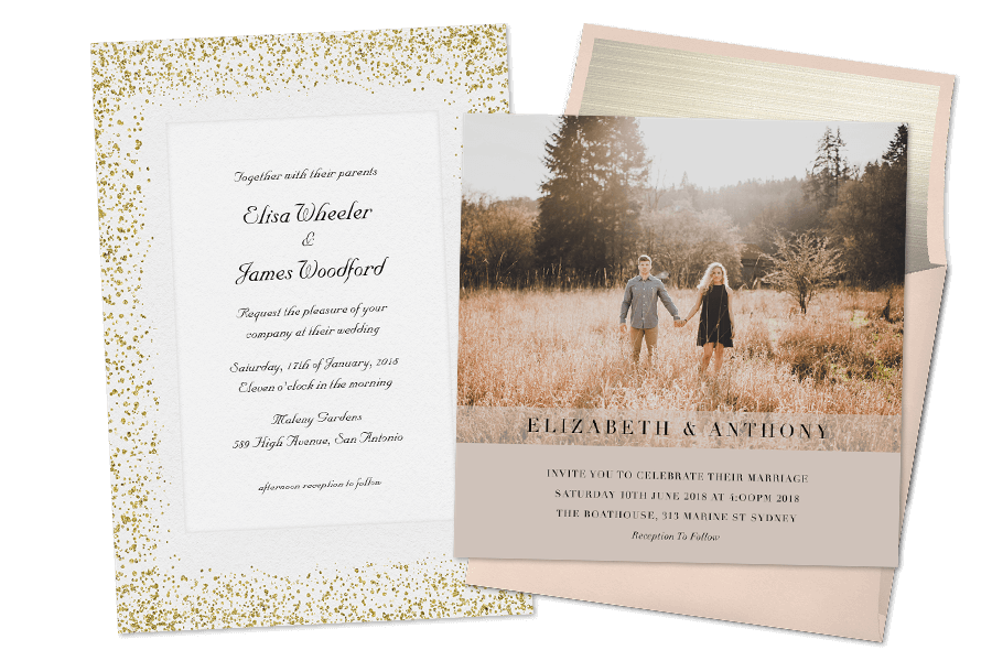 Email Online Wedding Invitations that WOW! | Greenvelope.com