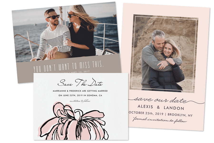 Captivating Wedding Save The Dates