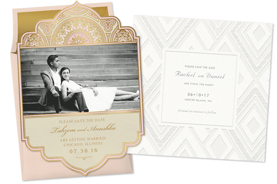 wedding save the dates - Picture Wedding Invitations