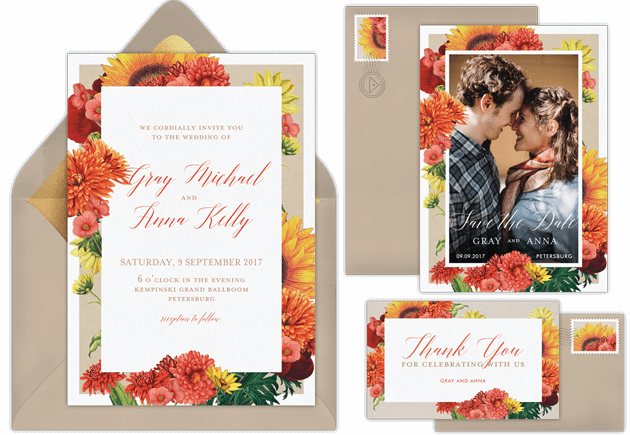 Email Online Wedding Invitations that WOW Greenvelopecom